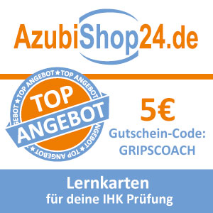 Empfehlung: Lernkarten von AzubiShop24