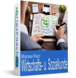 Mindmap-Paket Wirtschafts- und Sozialkunde - Master Club Online-Prüfungsvorbereitung