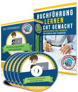 Buchführung lernen leicht gemacht - der Kurs mit Videos + Arbeitsheft + App