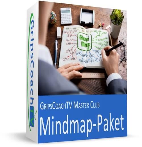 Das große GripsCoachTV Mindmap-Paket vom Gripscoach mit über 150 Mindmaps