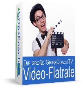Die große GripsCoachTV Video-Flatrate