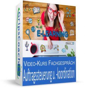 Video-Kurs Fachgespräch sicher bestehen: Auftragssteuerung und -koordination - Online-Prüfungsvorbereitung Kaufmann / Kauffrau für Büromanagement