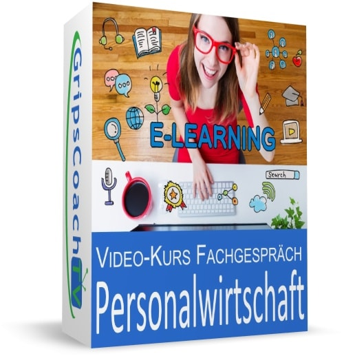 Video-Kurs Fachgespräch sicher bestehen - Personalwirtschaft - GripsCoachTV