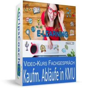 Video-Kurs Fachgespräch sicher bestehen: Kaufmännische Abläufe in kleinen und mittleren Unternehmen - Online-Prüfungsvorbereitung Kaufmann / Kauffrau für Büromanagement