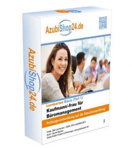 AzubiShop24.de Lernkarten für den 1. Teil der IHK-Prüfung Kaufmann / Kauffrau für Büromanagement - Prüfungsvorbereitung