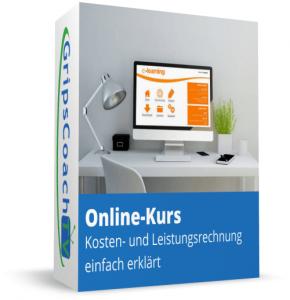 [Online-Kurs] Kosten- und Leistungsrechnung einfach erklärt