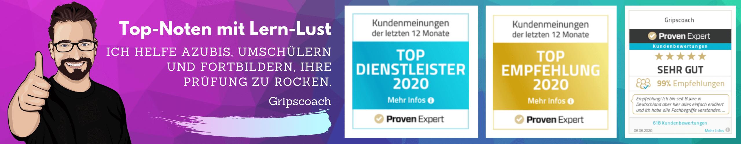 Lern-Lust Online-Prüfungsvorbereitung auf IHK-Prüfungen. Kauffrau für Büromanagement, Fachwirt, Ausbilderschein.