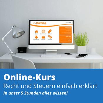 Online-Kurs Recht und Steuern