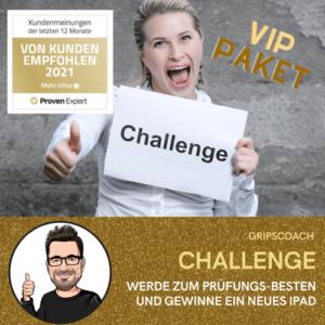 Gripscoach Challenge - VIP